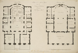 Plans of the Session-House for the county of Middlesex, London